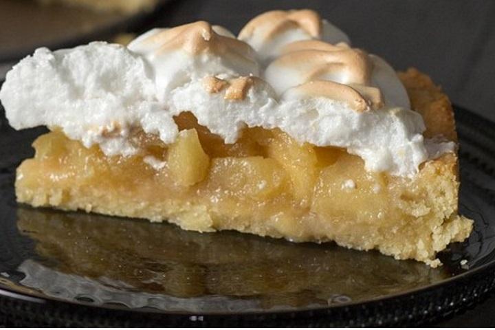 Hitra jabolčna pita