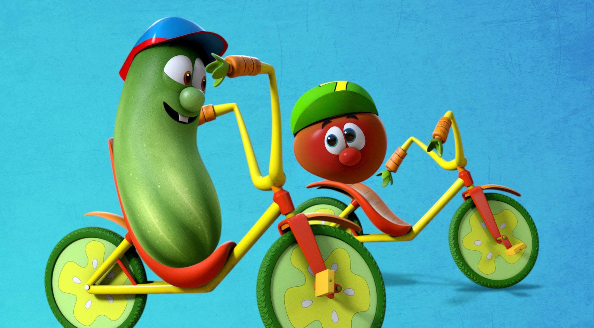 Bi otroci lahko vzljubili zelenjavo s pomočjo risanke?