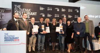 THE SLOVENIA RESTAURANT AWARDS 2018