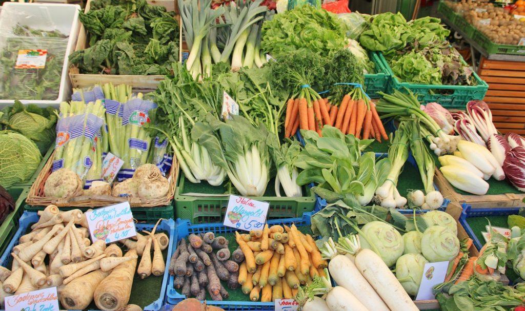 tržnica zelenjava