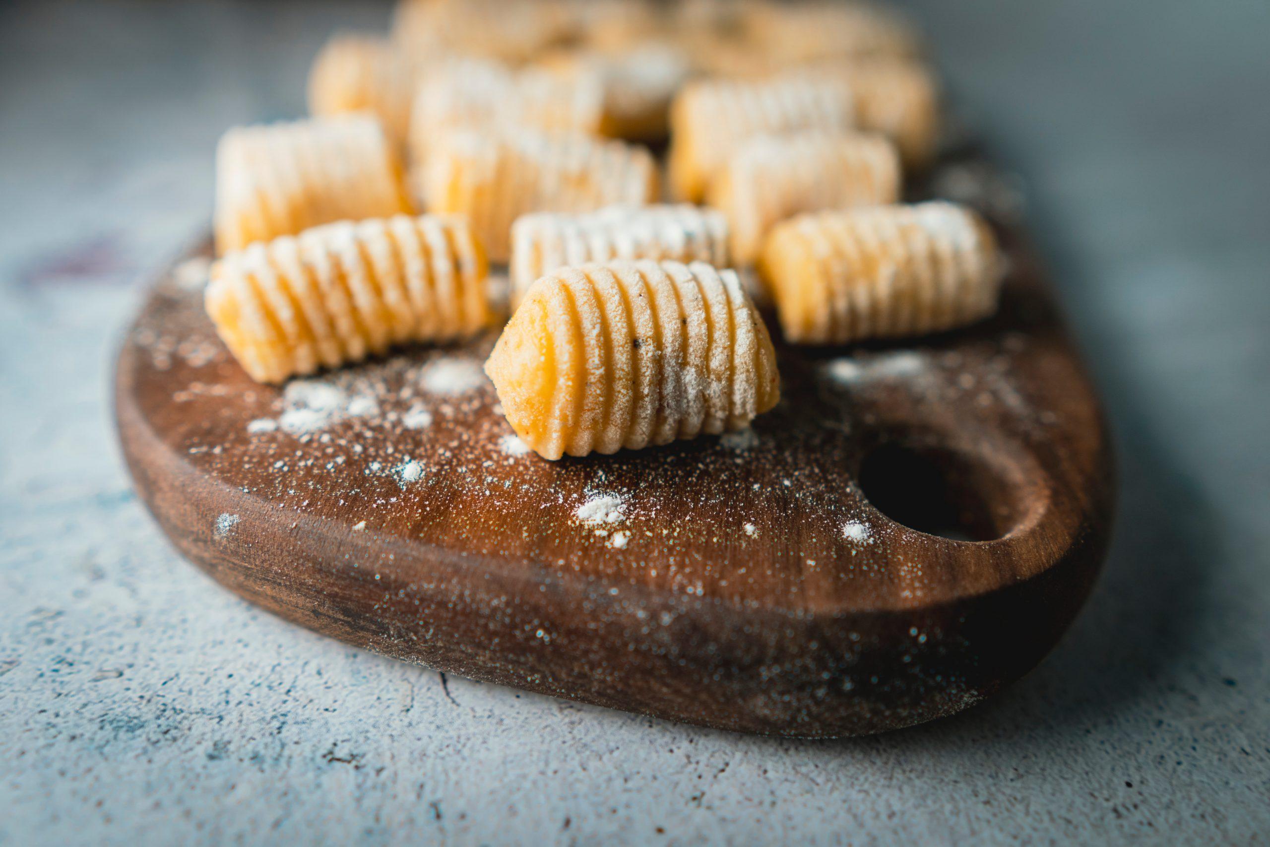 Svaljki iz sladkega krompirja