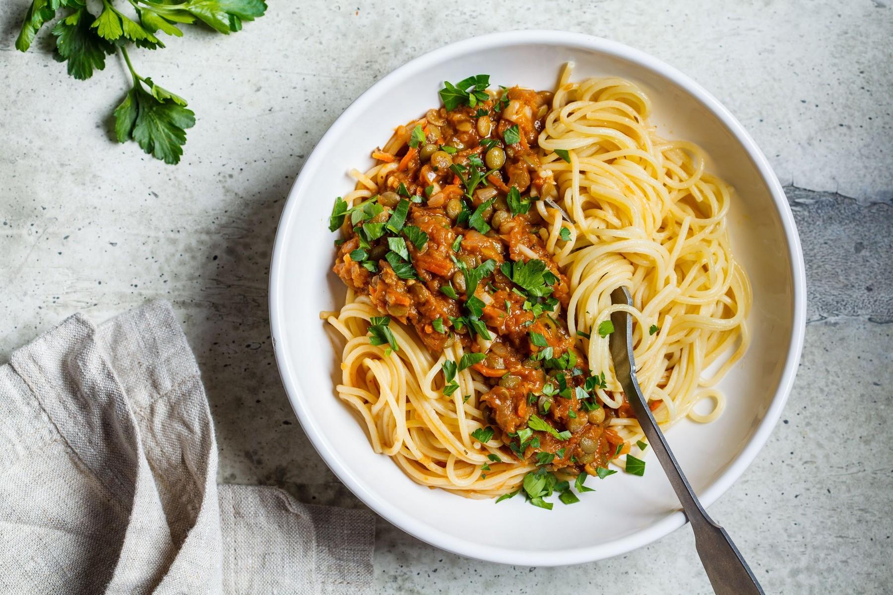 Lečina bolonjska omaka